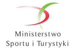 Szkolenie prowadzone jest przy wsparciu Ministerstwa Sportu i Turystyki