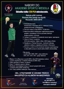 Dołącz do drużyny-2 treningi próbne gratis.Wypełnij formularz zgłoszeniowy i trenuj w 2 sekcjach w ramach jednej składki.